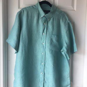 Daniel Cremieux Men's Linen Shirt